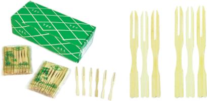 竹水果叉-樣品圖片