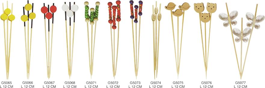 裝飾珠串-飾串竹串/竹籤/竹叉