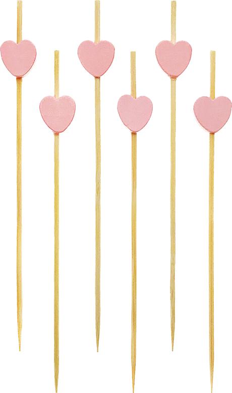 粉紅愛心串-樣品圖片